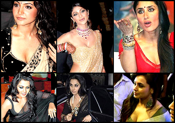 Bollywood babes' saree slip-up moments (see pics)