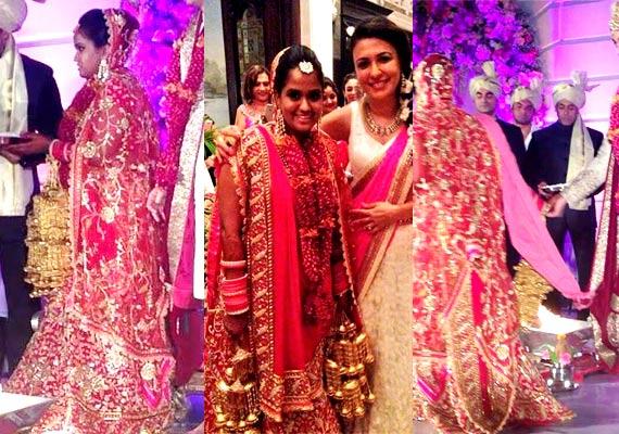 Arpita Khan Looks Like A Princess In Abu Jani-Sandeep