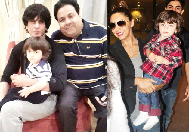 Shah Rukh Khan Copies Son Abram S Hairstyle See Pics