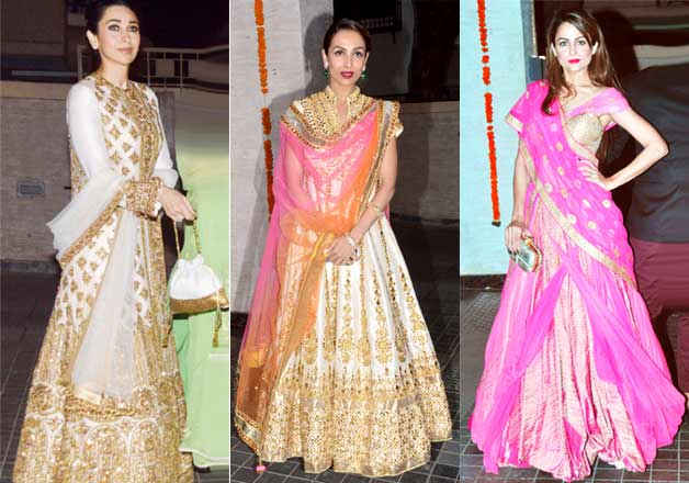 Kareena Kapoor Along With Bride Soha Looks Mesmerizing At Wedding Party See Pics