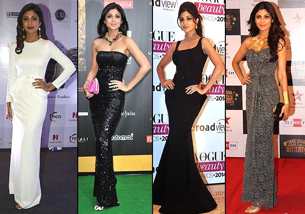 Shilpa Shetty is the best Bollywood actress to carry gowns at the ...