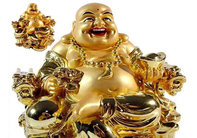 Different types of Laughing Buddha - their meanings