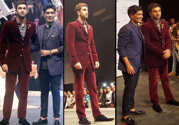 ranbir kapoor lakme fashion week 2015