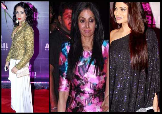 Fashion disasters at Sridevi's birthday bash (view pics)