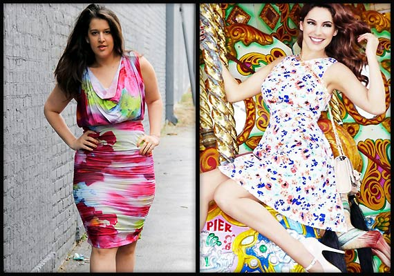 Fashion for curvy women: Go for florals (see pics