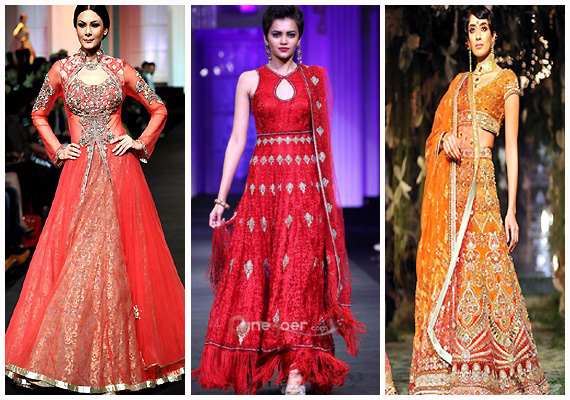 Indian Bridal Fashion Show 2014 Indian Fashion Designers