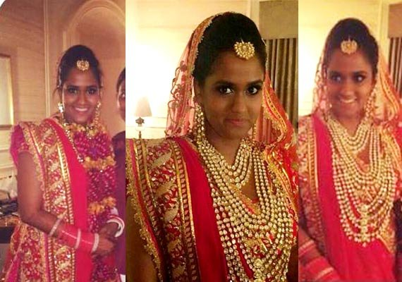 Arpita Khan looks like a princess in Abu Jani-Sandeep Khosla's creation at wedding (see pics)