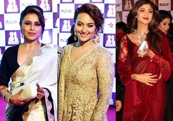 Rani, Sonakshi, Shilpa spill glamour and grace at #21YearsofAapKiAdalat event (see pics)