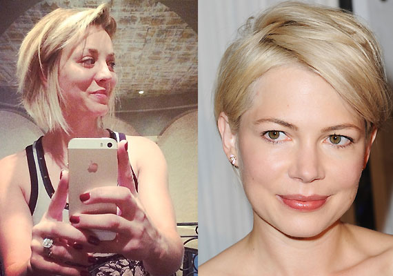 ... hair after seeing actress Michelle Williams' asymmetrical pixie crop