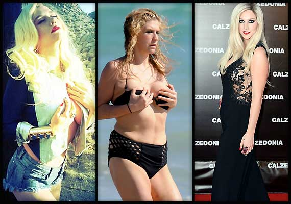 Kesha lose weight under pressure of advisors (see pics)