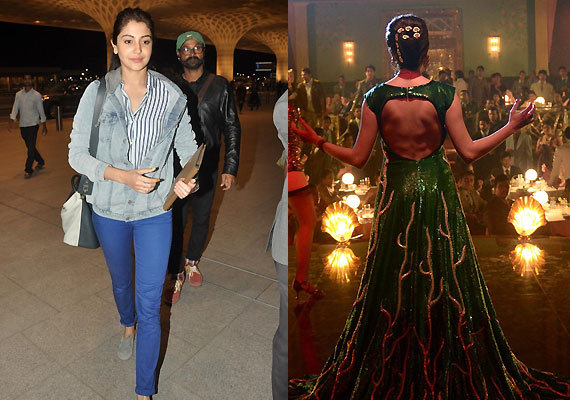 Anushka Sharma dons Niharika Bhasin's creation weighing 35 kg for Bombay Velvet