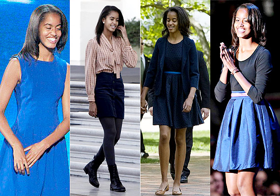Barack Obama's daughter Malia Obama: The most influential teen fashion icon (see pics)