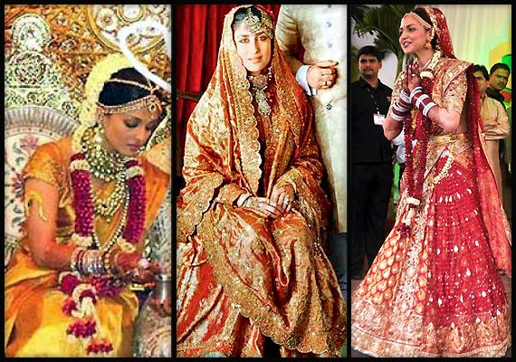 Bollywood beauties' real life bridal avatars (view pics)