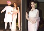 Kareena Kapoor Khan looks royally serene in Manish Malhotra saree at Soha Ali Khan wedding (see pics)