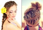 Hairstyling tips for beach holiday