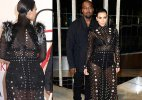 Kim Kardashian's first appearance after announcing pregnancy at CFDA 2015 (see pics)