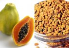 Stay away from dengue using papaya and fenugreek leaves