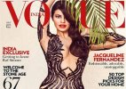 Jacqueline Fernandez raises temperatures in plunging neck gown on Vogue cover!