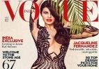 Jacqueline Fernandez raises temperatures in plunging neck gown on Vogue cover!