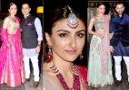 Kareena Kapoor along with bride Soha looks mesmerizing at wedding party (see pics)