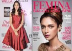 Aditi Rao Hydari flaunts bridal hairdos for 'Femina Salon & Spa'