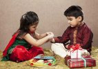 Raksha Bandhan: Simple, elegant rakhis replace oversized jazzy designs