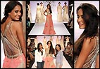 Lakme Fashion Week 2014: Lisa Haydon walked for designers Monica & Karishma (see pics)