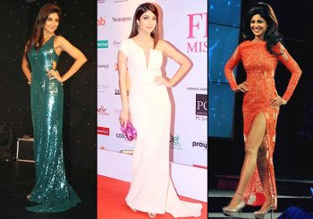 Shilpa Shetty - the perfect Bollywood actress to don 'gowns' at red carpets (see pics)