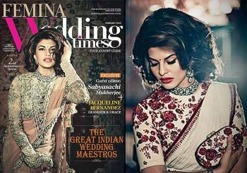 Jacqueline Fernandez poses regally exquisite for Femina Wedding Times (see pics)