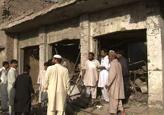 Blast targets Air Force van in Pak; 10 killed