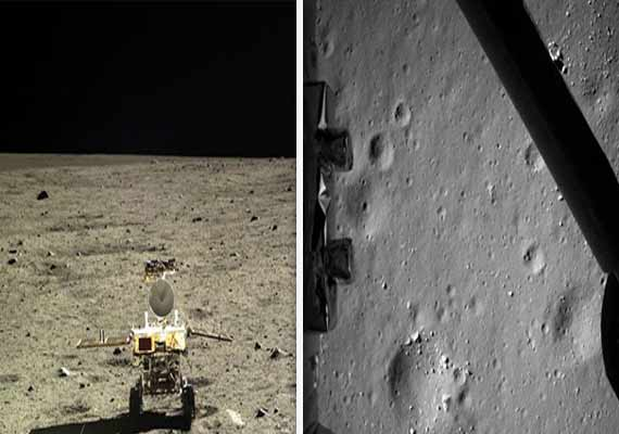 China's Lunar lander captures fresh pics of moon (Watch pics)