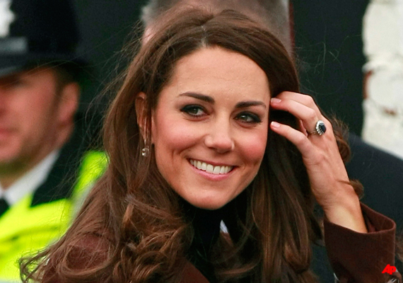 Duchess Kate In Valentine's Day Visit To Liverpool