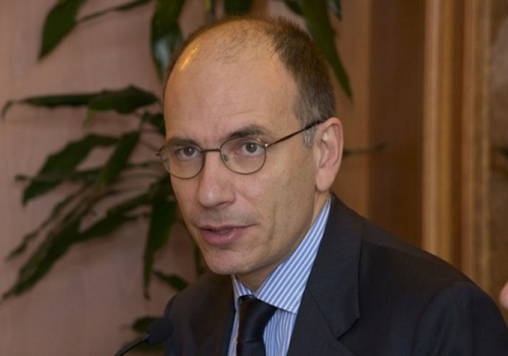 Enrico Letta is Italy's new PM