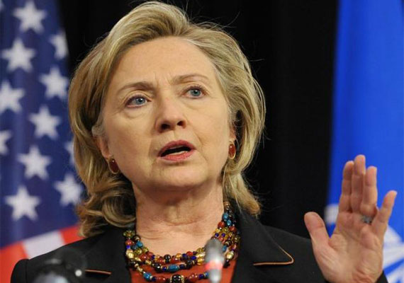 Hillary Clinton hospitalised after blood clot
