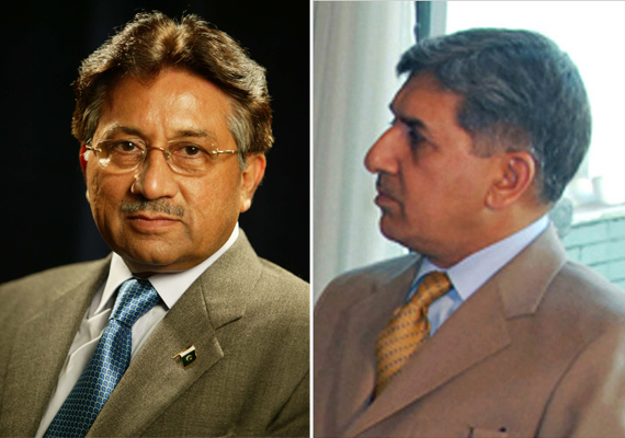 ISI Chief Secretly Met Musharraf In Dubai