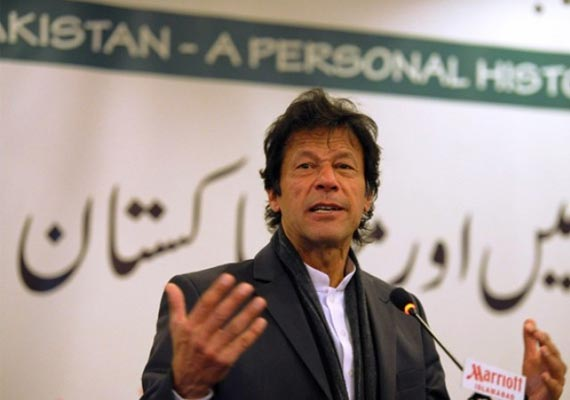 Imran Khan delivers 'I have a dream' speech