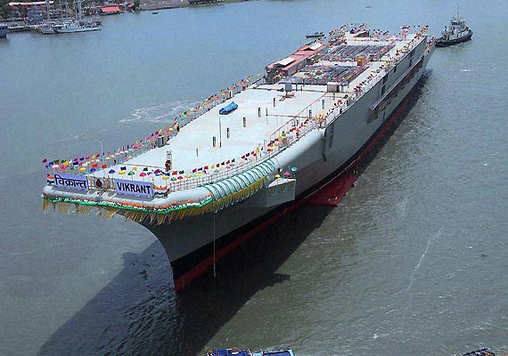 India's aircraft carrier INS Vikrant a threat: Chinese media report