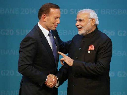 PM Narendra Modi is like a 'brother', says Australian PM Tony Abbott