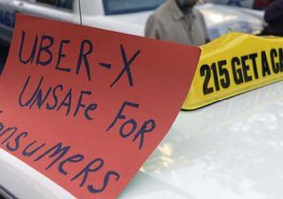 American city sues Uber for illegal operation