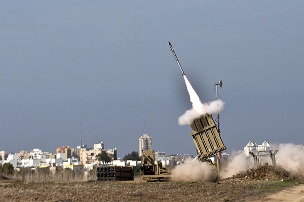 India looks to Israel's Iron Dome to counter short-range rockets