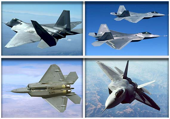 Inside the world's best fighter jet F-22A