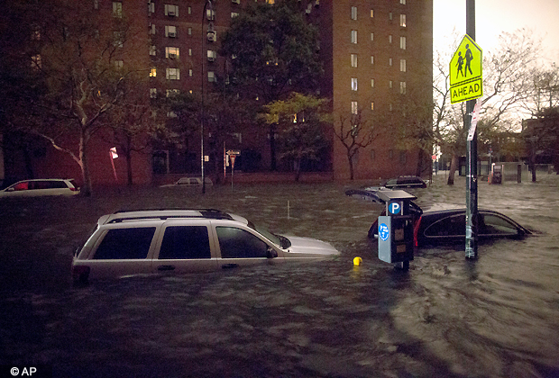 50 dead as Frankenstorm Sandy leaves trail of destruction