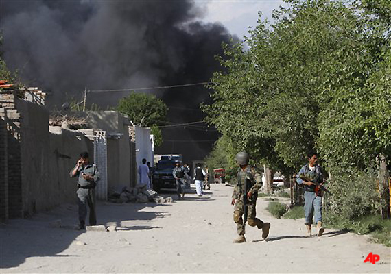 MPs Join Securitymen To Fight Taliban Militants