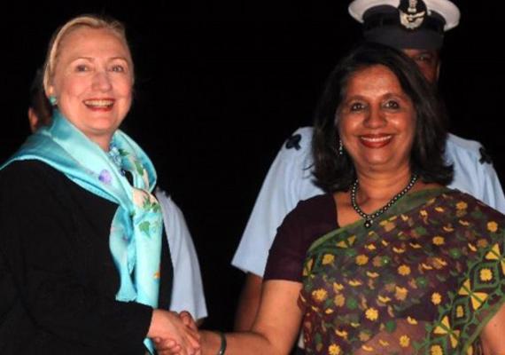 Nirupama Rao Meets Hillary Clinton, Discusses Range Of Bilateral Issues