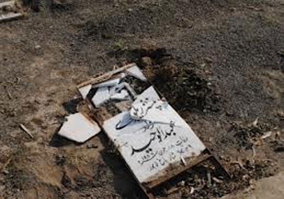 Over 120 Ahmadi graves desecrated in Lahore