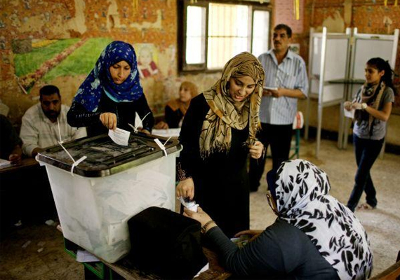 Poor turnout Egypt presidential poll, phase two