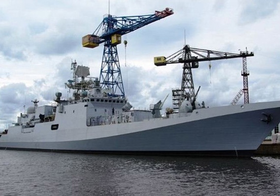 Russian frigate Trikand built for India begins final trials