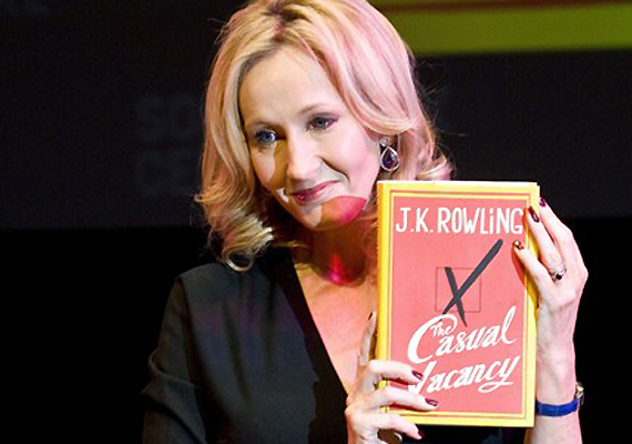 Sex and swearwords in J K Rowling's first novel for adults