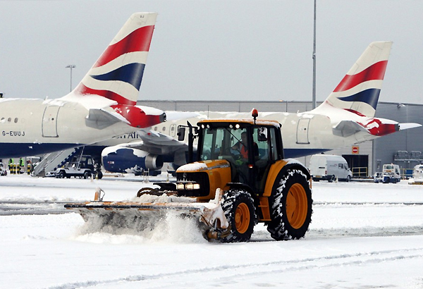 Some India Bound Flights Cancelled Amid UK Snow Chaos