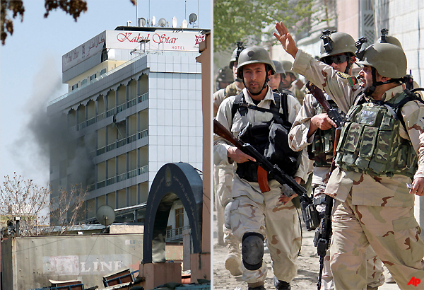 Taliban Attack Embassies, Parliament In Kabul, 3 Other Cities, 16 Killed